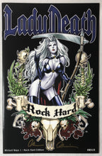 Load image into Gallery viewer, Lady Death Wicked Ways #1 Rock Hard Edition 10/113 Signed - Demize Collectibles LTD