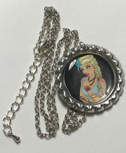 Load image into Gallery viewer, Tattooed Elsa Necklace