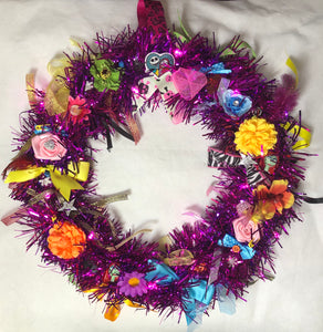 Pink Sally Wreath