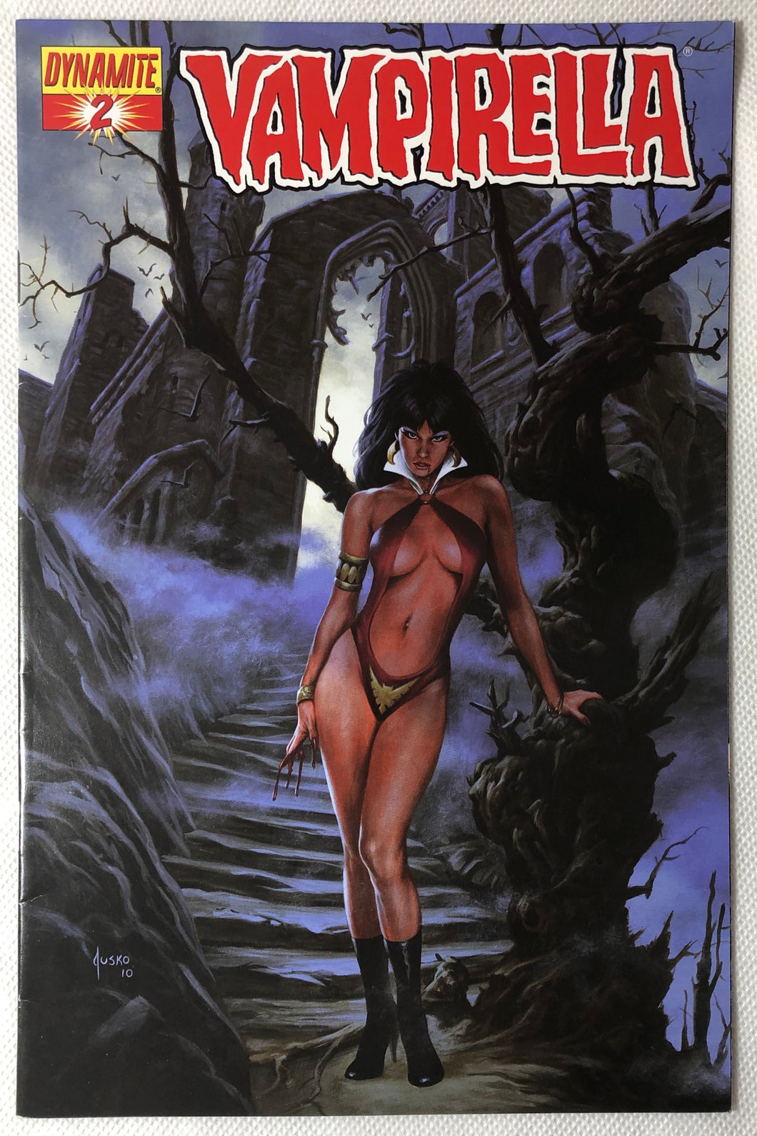 🧛🏻‍♀️ Vampirella #2 Jusko Variant - Demize Collectibles LTD