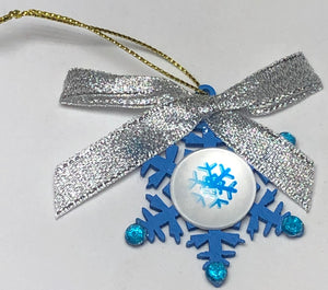 Snowflake Decoration With Picture Centre