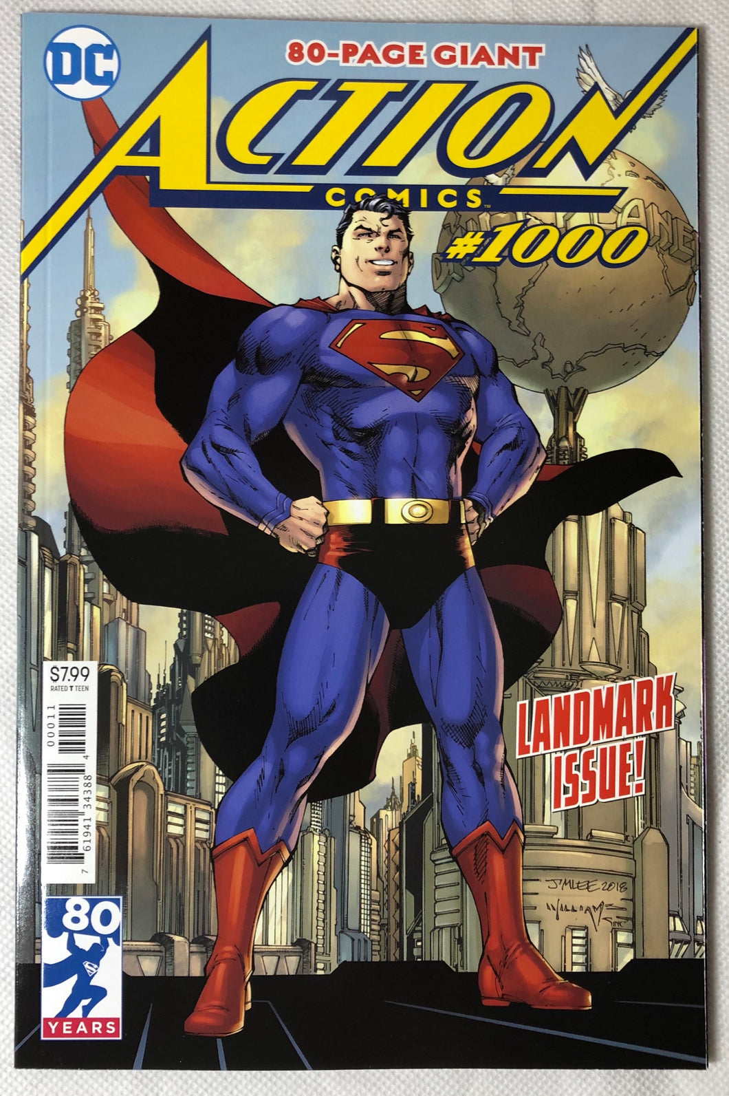 Action Comics #1000 80 Years - Demize Collectibles LTD
