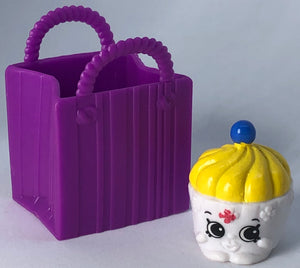 Shopkins Kay Cupcake Figure In Bag - Demize Collectibles LTD