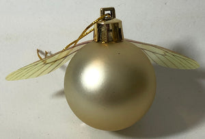 Golden Snitch Gold Pearlescent Bauble 🟠 - Demize Collectibles LTD