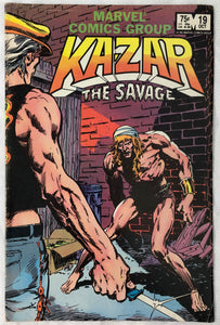 Ka-Zar The Savage #19