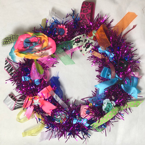💗 Pink And Blue Sally Wreath