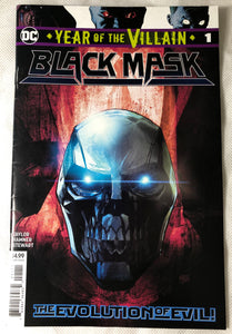Year Of The Villain Black Mask #1 - Demize Collectibles LTD