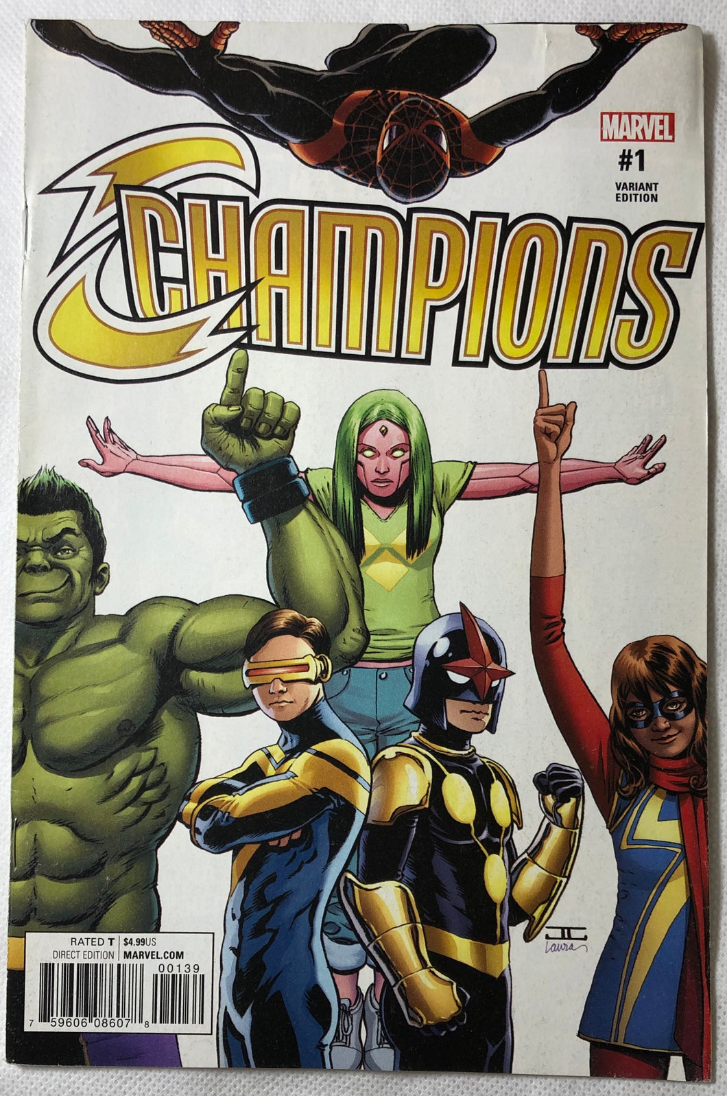 Champions #1 Variant Edition Marvel - Demize Collectibles LTD