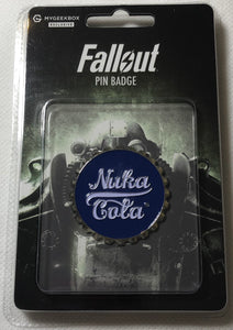 Nuka Cola Bottle Top Pin Badge Fallout - Demize Collectibles LTD