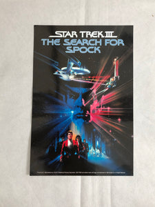 Star Trek III The Search For Spock Movie Print