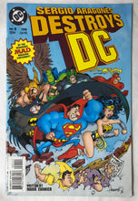 Load image into Gallery viewer, Sergio Aragonés Destroys DC #1
