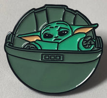 Load image into Gallery viewer, The Child In Pod Enamel Pin Badge