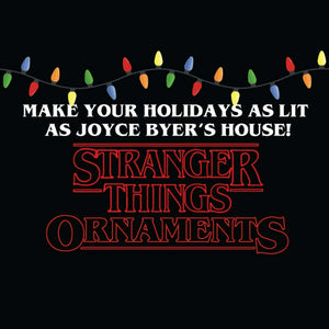 Stranger Things Christmas tree Bauble Ornament Decoration - Hand Painted - Demize Collectibles LTD