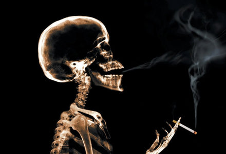 9 Body parts you are damaging by smoking  | Tabex Expert