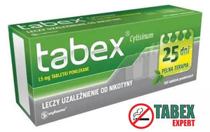 Buy a pack of Tabex pills online - 100 pills - Tabex Expert