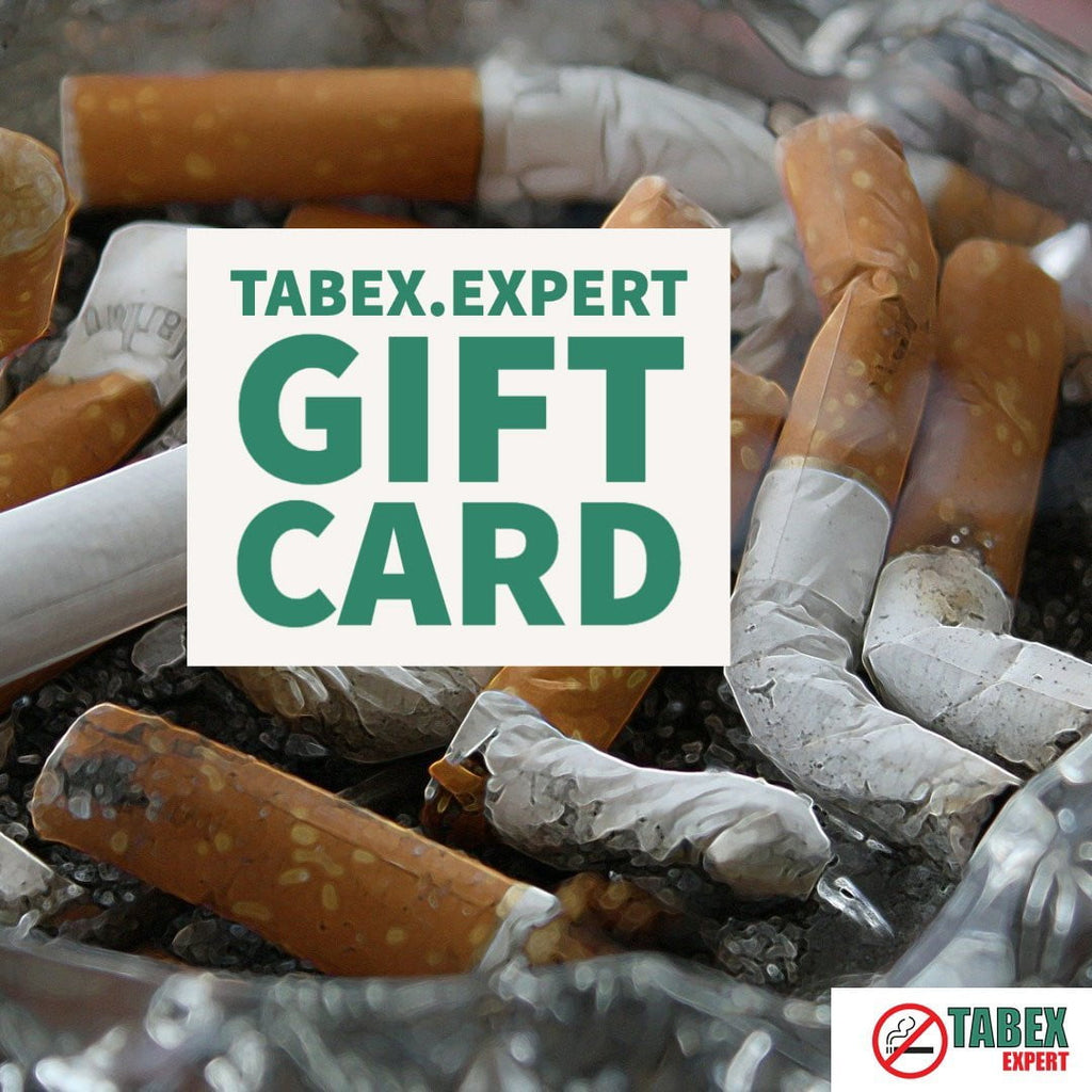 Personalised Tabex.Expert Gift E-Card - Tabex Expert