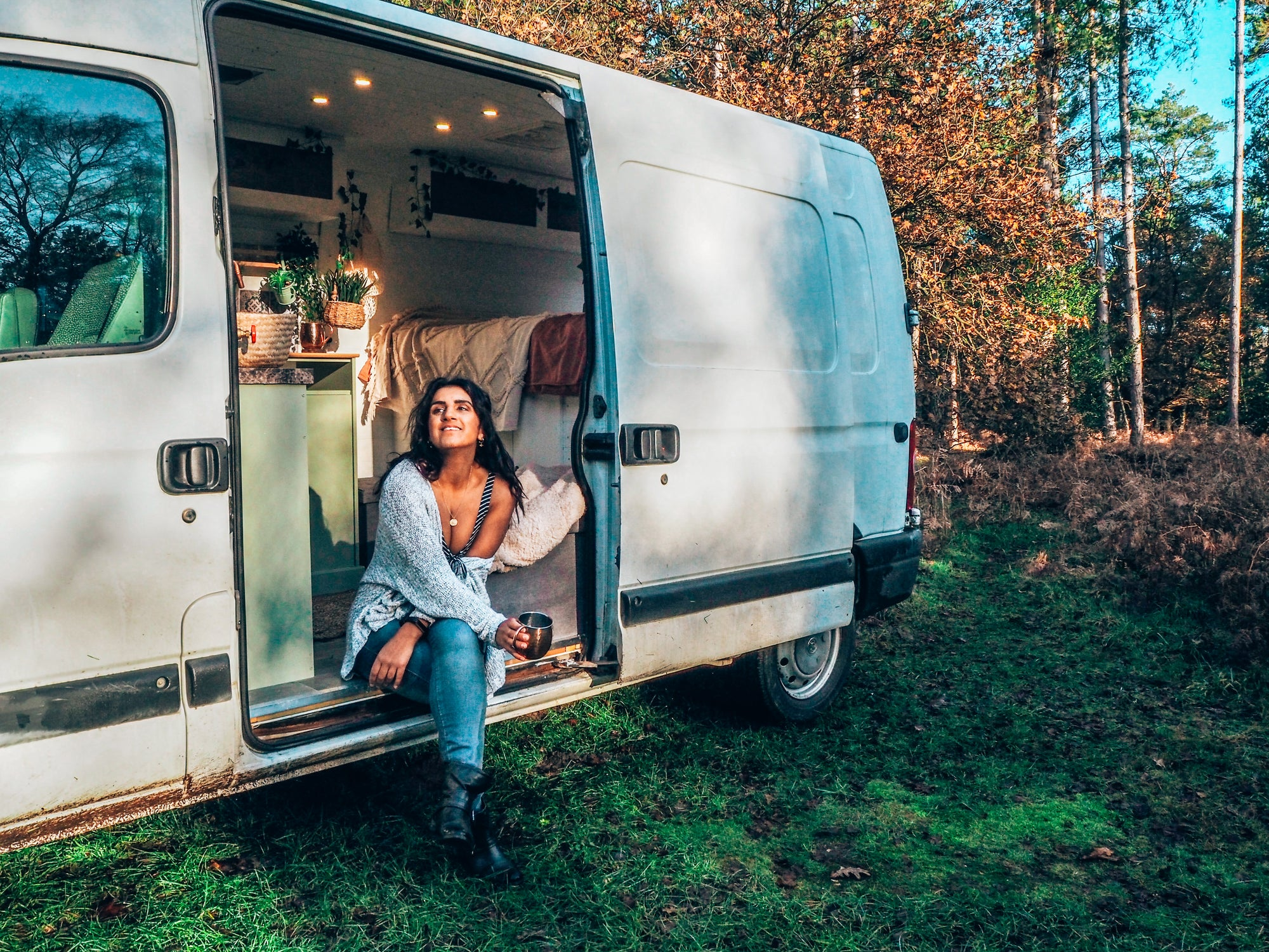 How the pandemic inspired this backpacker to commit to vanlife