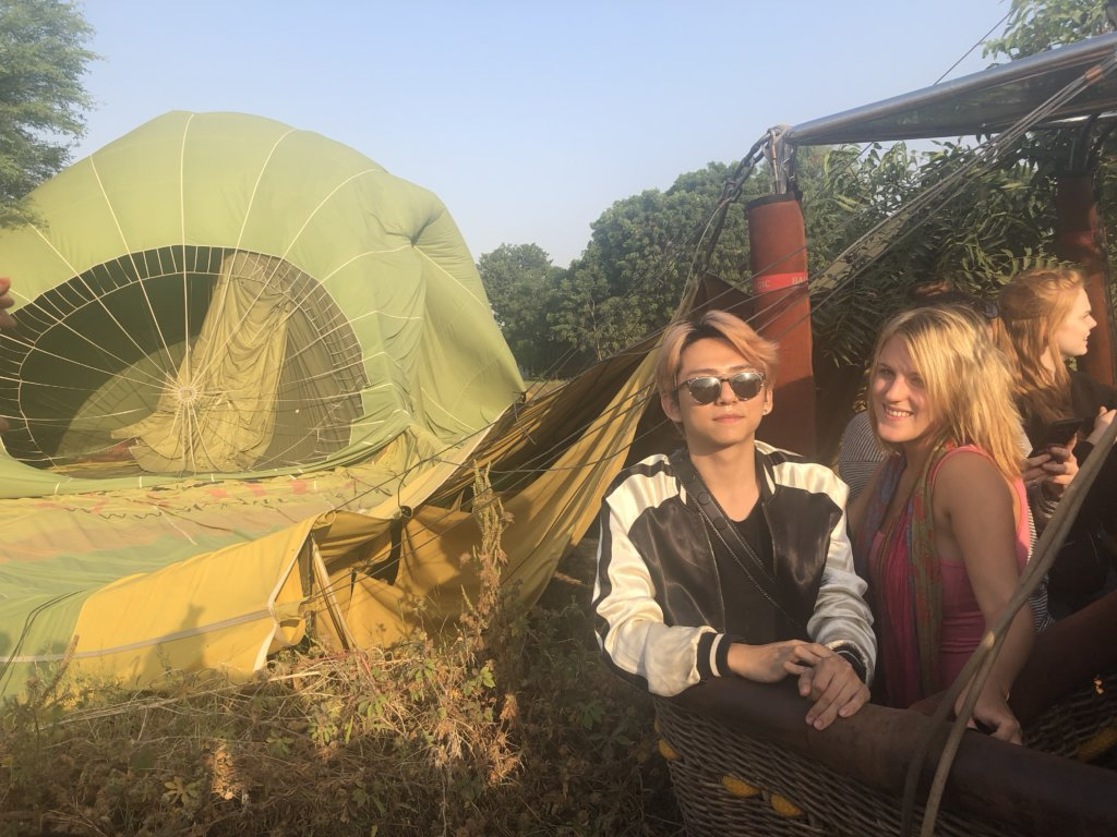 Smooth Operator: A Hot Air Balloon Ride in Jaipur