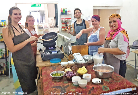 cooking class in SE Asia