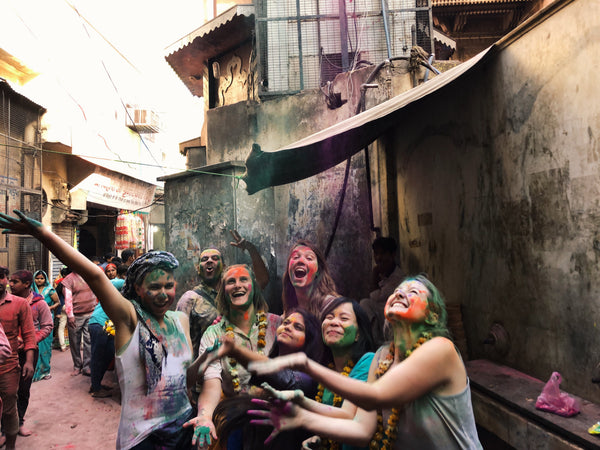 2020: Celebrate Holi in India: Road to Rainbows, India (9 Days)