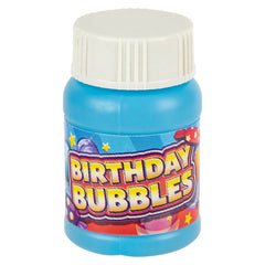 1 Oz Birthday Bubble Bottle