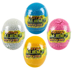 "3"" LIGHT-UP ALIEN PUTTY EGG"