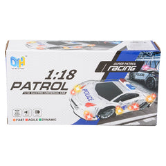 "8.5"" Light Up Police Car with Sound"