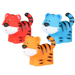 "2"" RUBBER WATER SQUIRTING TIGERS"