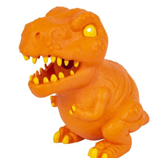 "7.75"" SQUEEZE AND STRETCH DINOSAUR"