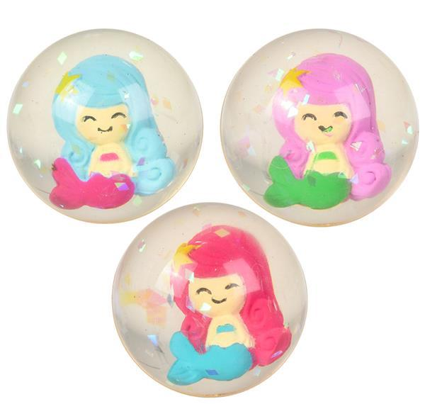"1.75"" 45mm MERMAID HI-BOUNCE BALL"