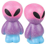"11"" JUMBO SQUISH GALAXY ALIEN- pack of 12 ($15.65 each)"