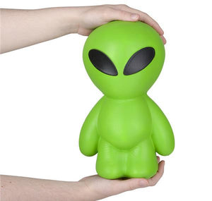 "11"" JUMBO SQUISH ALIEN- pack of 12 ($14.95 each)"