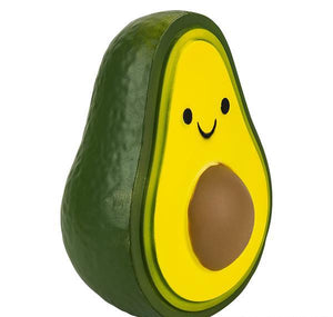 "11"" JUMBO SQUISH AVOCADO- pack of 6 ($17.75 each)"