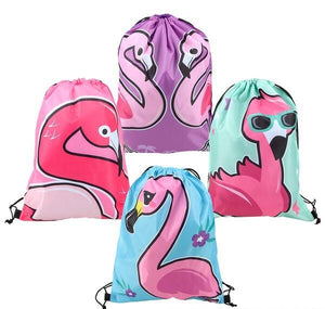 "16"" FLAMINGO BACKPACK-  pack of 12 ($2 each)"