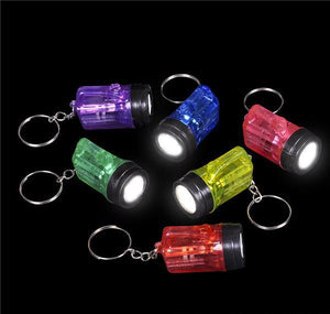 "1.5"" FLASHLIGHT KEYCHAIN- pack of 12 ($0.5 each)"