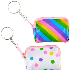"2.5"" COIN PURSE KEYCHAIN- pack of 12 ($1.25 each)"