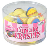 SCENTED CUPCAKE ERASER- pack of 24 ($0.25 each)