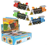 "7""DIECAST PULL BACK LOCOMOTIVE- pack of 12 ($5.85 each)"