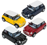 "5"" DIE CAST MINI COOPER- pack of 12 ($4.85 each)"
