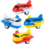 "2"" PLASTIC PULL BACK AIRPLANE- pack of 6 ($3.15 each)"