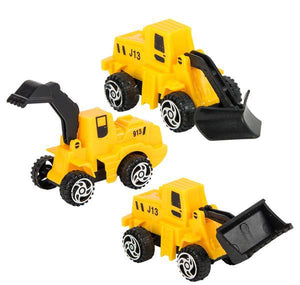"2"" PULL BACK CONSTRUCTION TRUCK- pack of 24 ($1.5 each)"