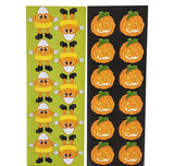 100 SHEETS HALLOWEEN STICKER ASSORTMENT