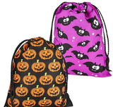 "10.5""x8"" HALLOWEEN DRAWSTRING BAG- pack of 12 ($1.5 each)"