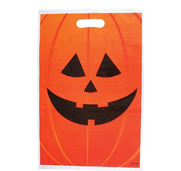 JACK-O-LANTERN TRICK OR TREAT BAG