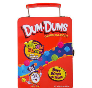 DUM DUMS LUNCH BOX- pack of 12 ($7 each)