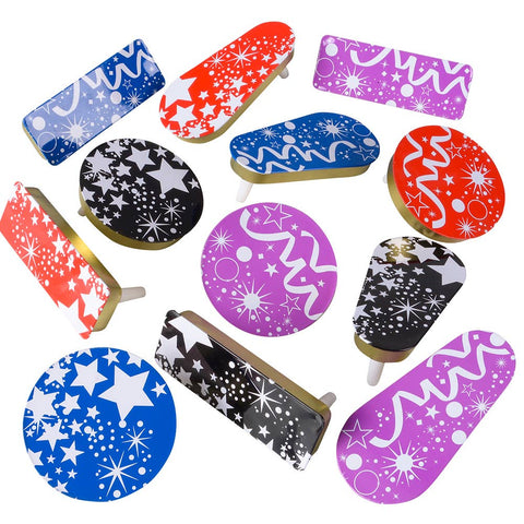 NEW YEAR NOISEMAKERS Pack of 12