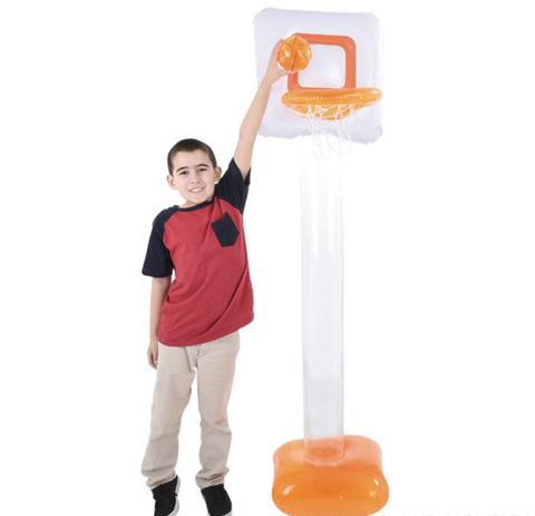 6.5' INFLATE BASKETBALL SET
