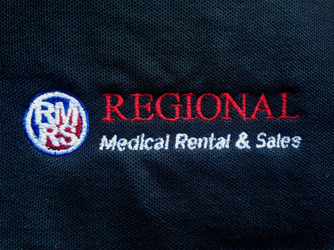 Embroidered Company Logo