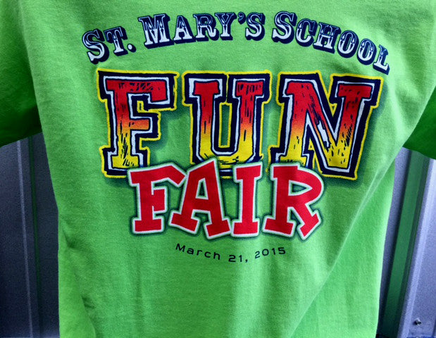 Fun Fair t-shirts