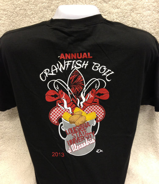 crawfish boil bayou shirts
